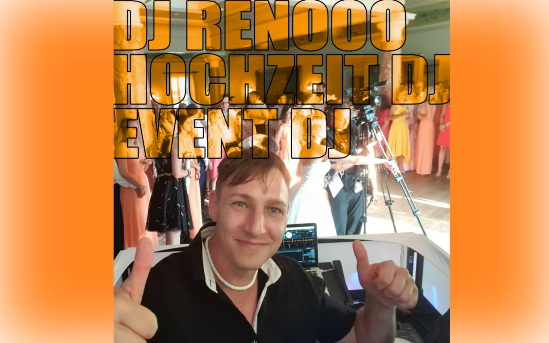 Hochzeit und Event DJ Renooo